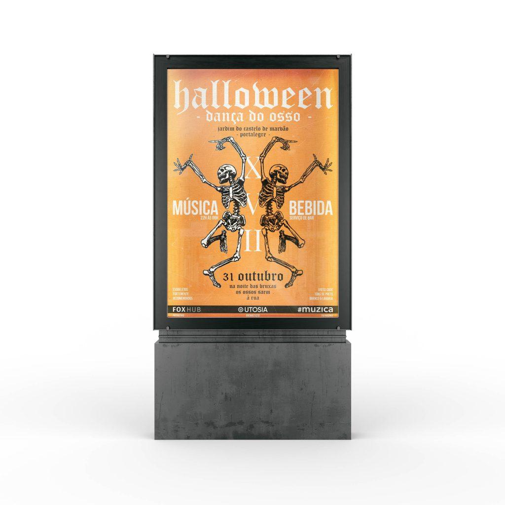 halloween mockup